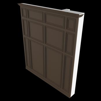 Wainscot Door