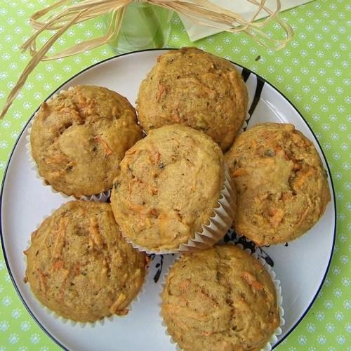 Garden Vegetable Muffins