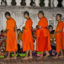 Collecting Alms in Luang Prabang