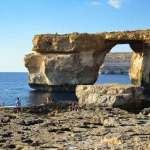 """Azure Window"" on Gozo"