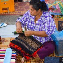 Selling at Luang Prabang Night Market