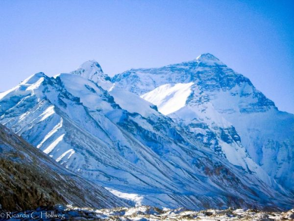Mount Everest: View from Tibet