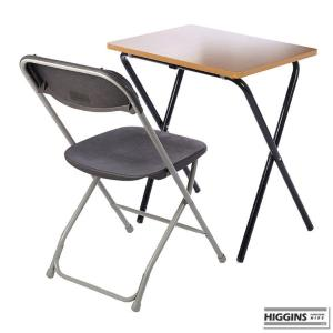 Exam Desk and Chair