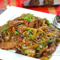 Spicy Thai Stir-Fried Drunken Noodles, Pad Kee Mao