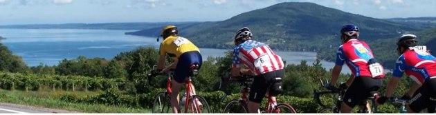 Lake-cyclists