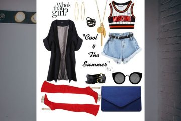 Cool 4 The Summer, a Cute and Casual Look by Vanessa Lee / Highlark