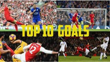 Top 10 Goals of the Week 18 - [18/12/2017]