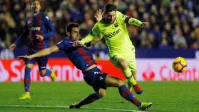 Levante vs Barcelona Highlights & Full Match