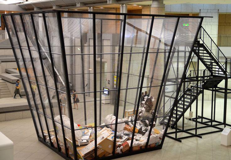 Michael LANDY Art Bin installation