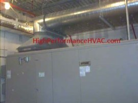 HVAC Duct Work - Air Handling Unit Duct - Air Handler Duct Work