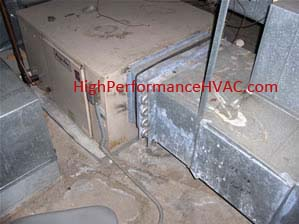 MagicAire Air Handler with Hot Water Coil