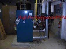 Hot Water Boiler Reset Control