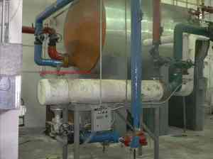 Heat Exchanger &amp; Domestic Hot Water Storage Tank