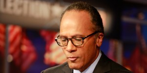 NBC NEWS - EVENTS -- Decision 2012 -- Pictured: Lester Holt -- (Photo by: Michele Leroy/NBC/NBCU Photo Bank via Getty Images)