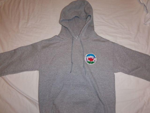 Grey Club Hoodie Sweatshirt