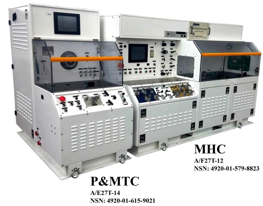 Hydraulic Test Equipment : Military aerospace hydraulic test equipment