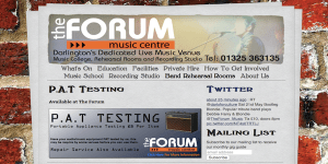 The Forum's website