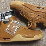 "Nike Air Jordan 4 ""Wheat"" リーク画像!"