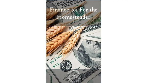 Finance 101 For the Homesteader