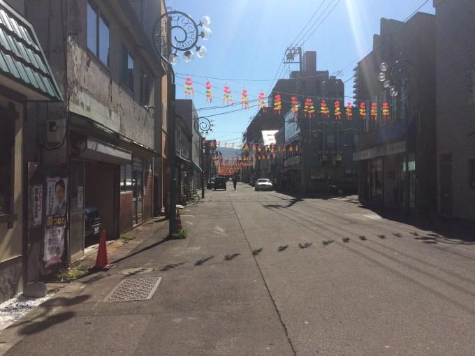 小樽 柳川通り