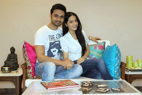 RJ Anmol and Amrita Rao