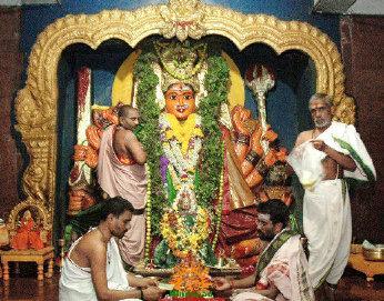 Goddess Bhadrakali hanamkonda