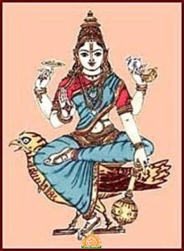 Goddess Vaishnavi, Shakti of Lord Vishnu