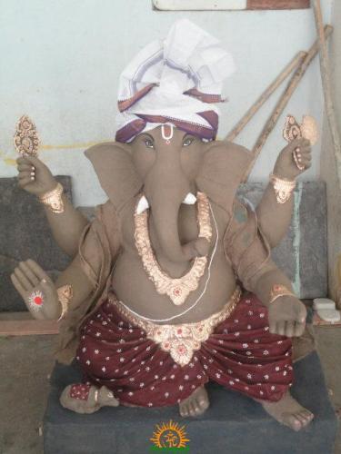 Clay Ganesha