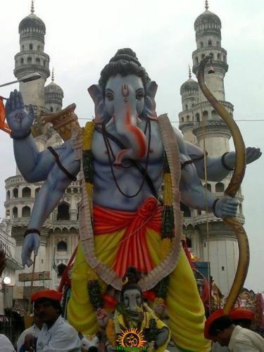 Hyderabad Ganesh Nimajjanam 2013