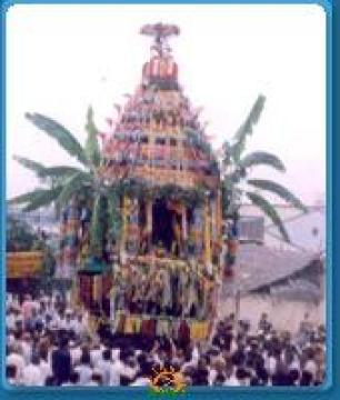 Rathotsavam in Kanipakam Varasiddhi Vinayaka Swamy Temple