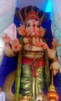 108-feet Ganesh at Vizag MVP Colony 4