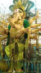 78-feet Ganesh idol Gajuwaka Vizag 2