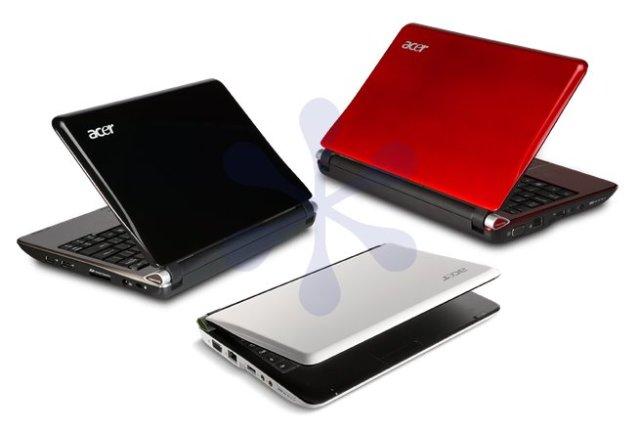 Acer Aspire One de 10 pulgadas