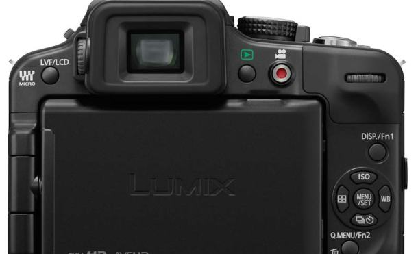 Lumix G3 trasera