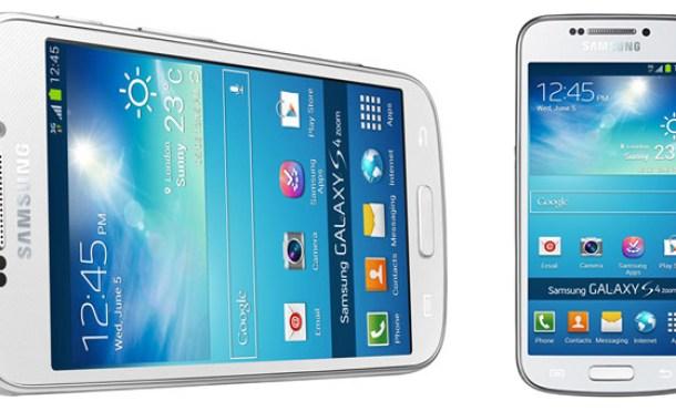 Samsung presenta su nuevo híbrido: Samsung Galaxy S4 Zoom