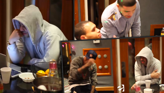 Those Chris Brown And Drake Studio Pictures Are Really Old ...