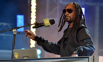 ATLANTA, GA - OCTOBER 09:  Uncle Snoop onstage at the BET Hip Hop Awards Show 2015 at the Atlanta Civic Center on October 9, 2015 in Atlanta, Georgia.  (Photo by Paras Griffin/BET/Getty Images for BET Networks)
