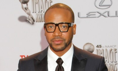 Columbus Short arrives at the 45th NAACP Image Awards at the Pasadena Civic Auditorium on Saturday, Feb. 22, 2014, in Pasadena, Calif. (Photo by Arnold Turner/Invision/AP)
