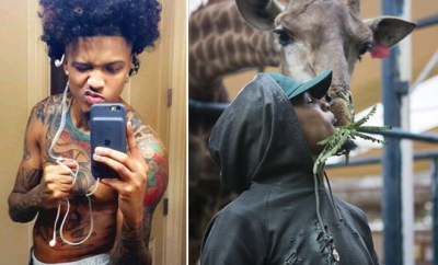 August Alsina Is Showing Off His Package Once Again