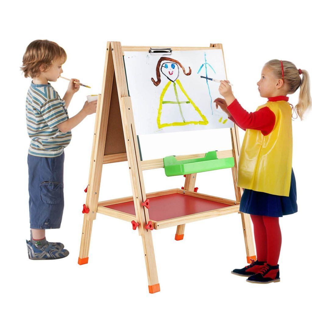 Traditional Sided Adjustable Kids Easel Drawing Board Number Out Kids At Walmart Kids Ikea Easel Lightning Deal Sided Adjustable Kids Easel Drawing Easel baby Easel For Kids