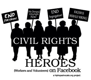 Civil Rights Heroes on Facebook