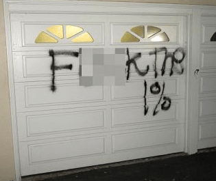 FBI Set to Track Down Culprits Tagging Anti-Wealth Messages In Rich Neighborhhods