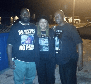 Uncle Bobby pictured left w/ wife Beatrice X and Mike Browns fathers