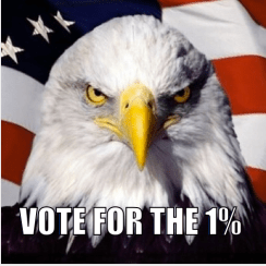 Vote for the 1%