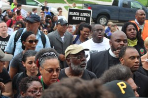 March to DOJ Carl Dix
