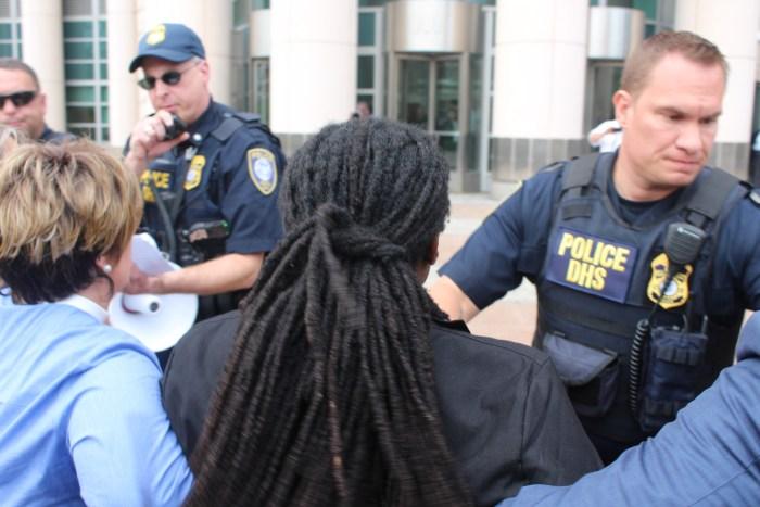 March to DOJ Arrests
