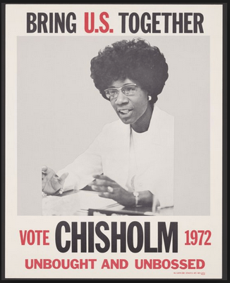 Shirley Chisolm poster