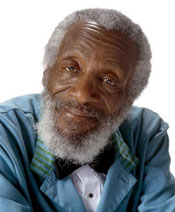 Dick Gregory spoke about sinister forces at work that eventually killed Martin Luther King