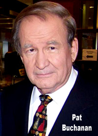 Pat Buchanan is upset that the race issue was stirred up more during the Sonia Sotomayor hearings