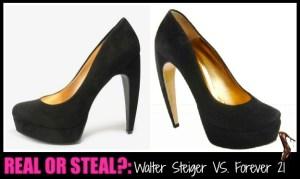 curved heel looka-like